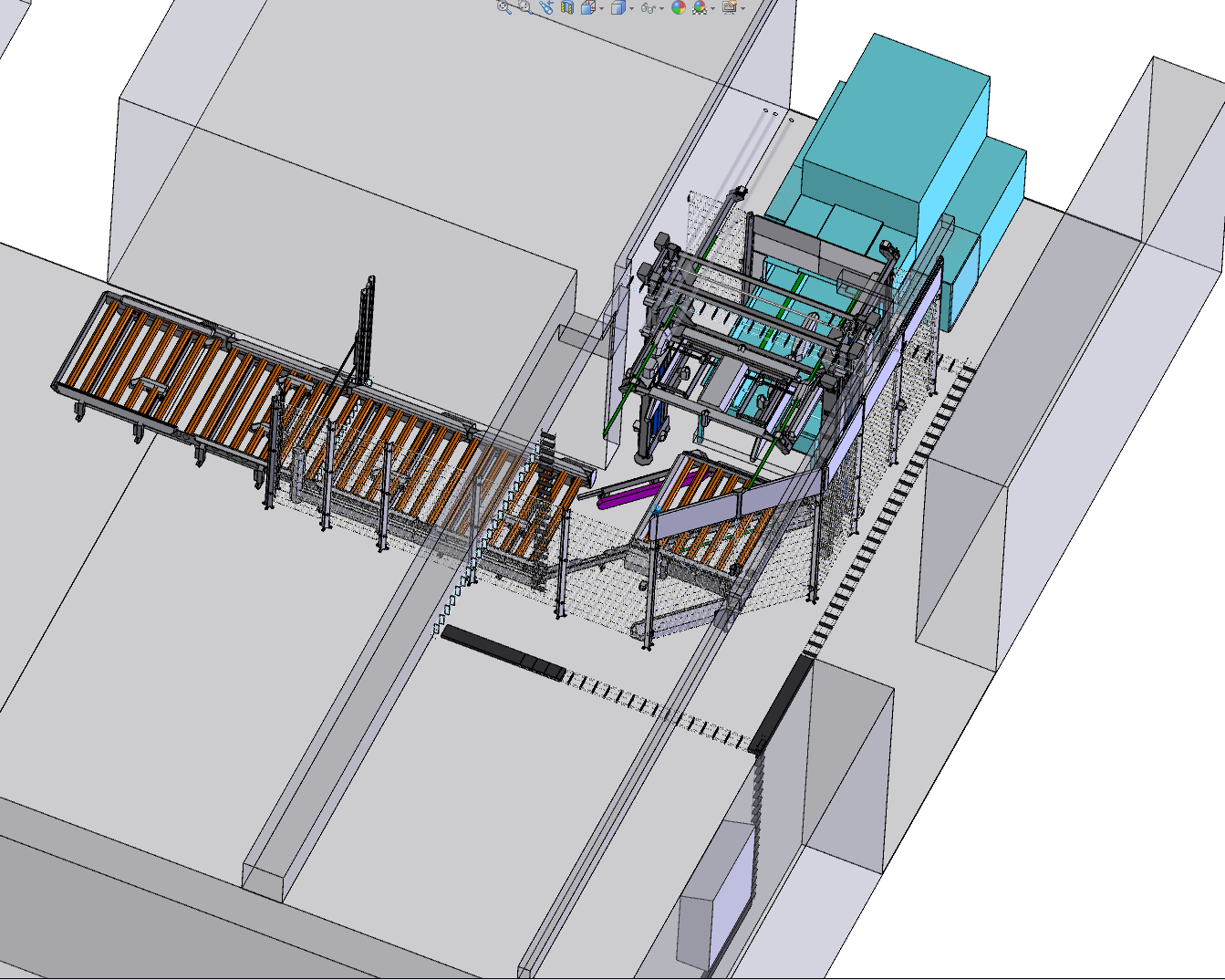 3D-konstruktion af portalrobot