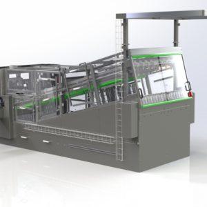 Dispenseringsmaskine med buffer til-Arla - Egatec