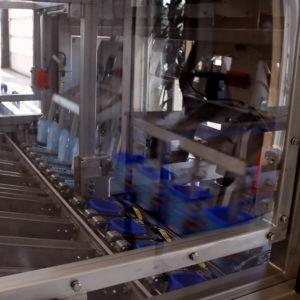 Dispenseringsmaskine med buffer til plastikbægre - Egatec