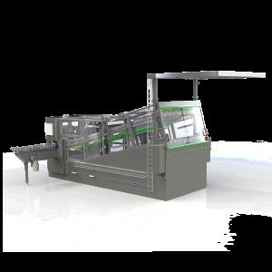 Dispenserings-maskine med buffer