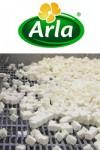 Produktionslinje hos Arla