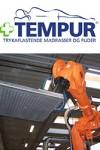 Palleteringsrobot hos Tempur