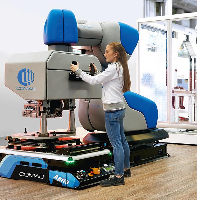 AURA kollaborativ robot - Egatec