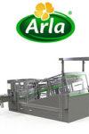 Bægerdispenser til Arla - Egatec