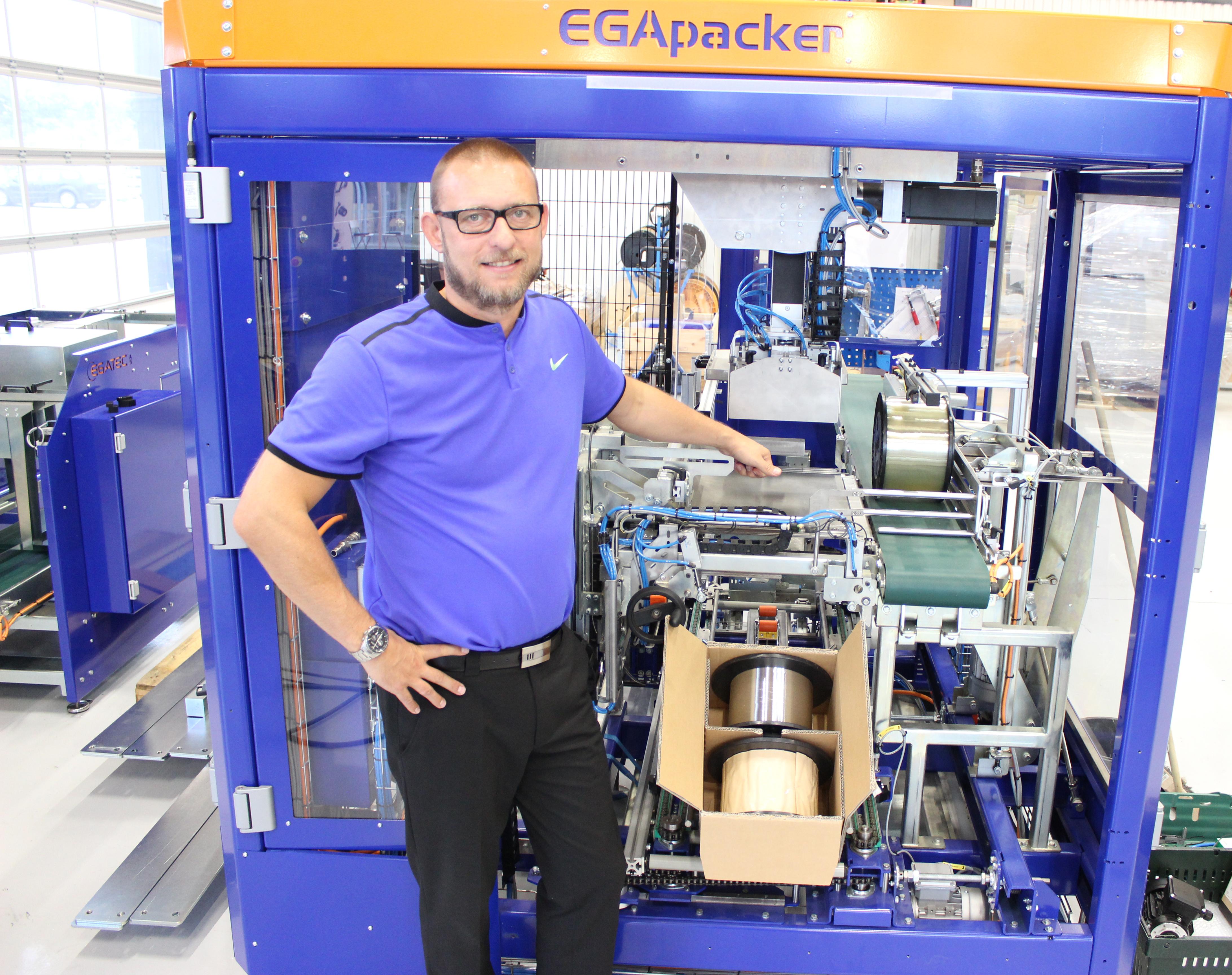 Robotløsning til OFS Fitel - Egatec