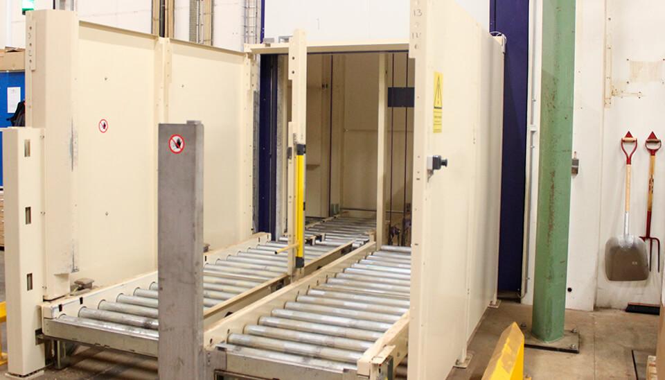 Pallelift/Palle elevator