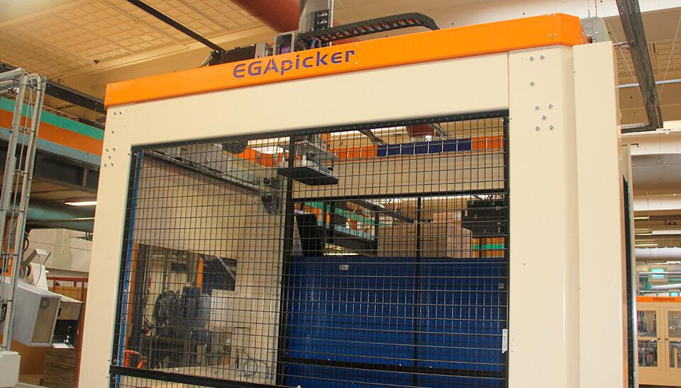 Palleteringsrobot EGAtec